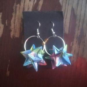 Jewelry - Origami earrings